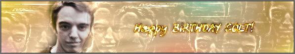 С днем Рождения COLT